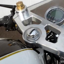 Le cafe-racer de Mathieu, une Honda CB 750 Seven Fifty métamorphosée...