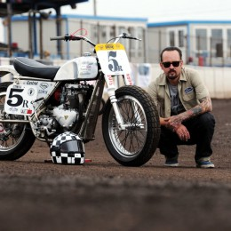 National Dirt Track Championships : Frank Chatokhine champion !