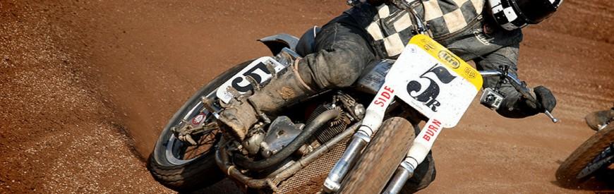 Frank Chatokhine, champion de dirt track vintage !