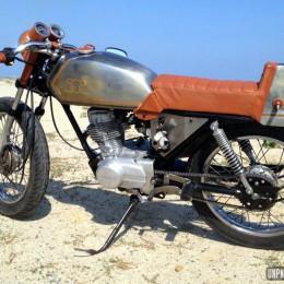 La Honda 125 CG d'Eques...