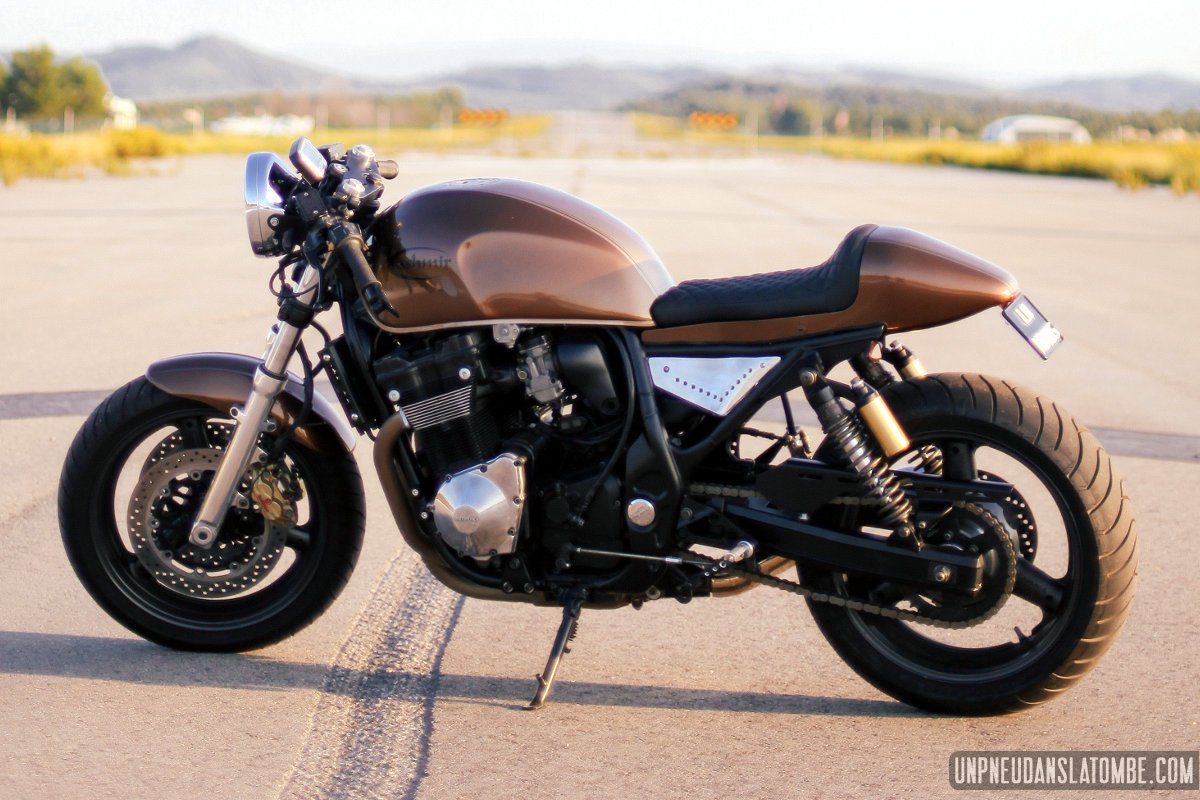 suzuki 1200 inazuma cafe-racer un hit signé luis alves motos !