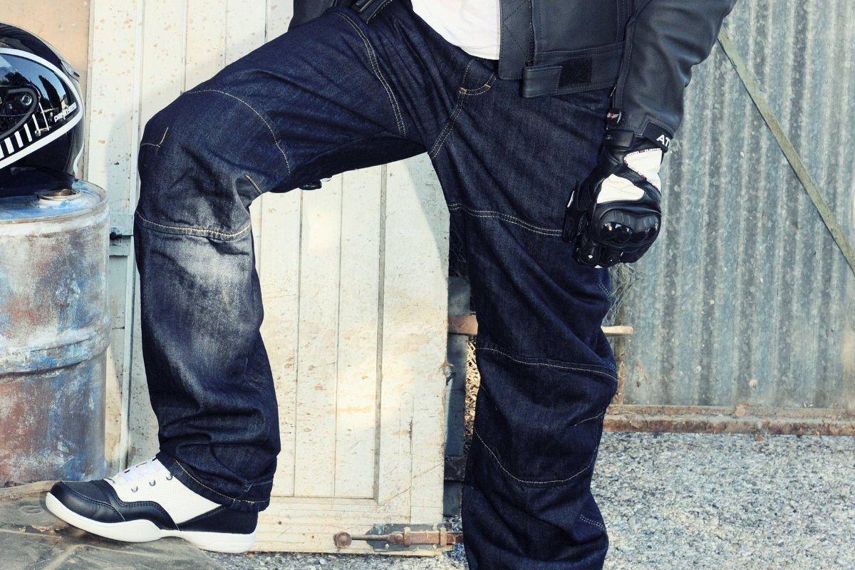 les moto de Overlap jeans pour au Kevlar Testés vous chez renforcés O1x7rO dxorCBe