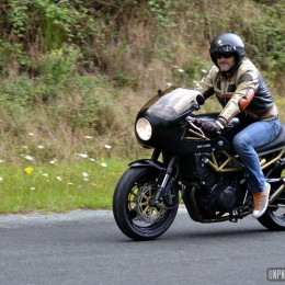 Fan de Yamaha 850 TRX, Cyrille s'est concocté un beau cafe-racer !