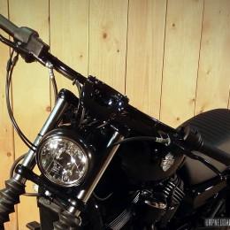 Une Harley-Davidson 750 Street, customisée par la concession de Limoges...