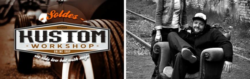 """Kustom Workshop : vêtements et accessoires empreints de """"kustom kulture""""..."""