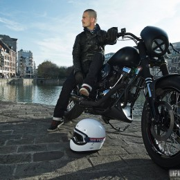 Un total look pour allier style, confort et protection à moto...