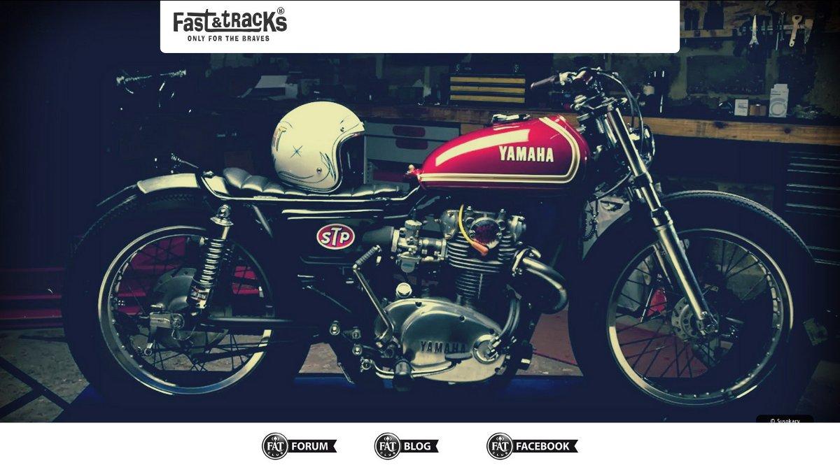FAT club : une nouvelle homepage pour mon forum moto préféré !