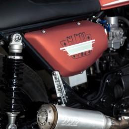 """Honda CX 500 cafe-racer : la petite dernière de """"Sur les chapeaux de roues""""..."""