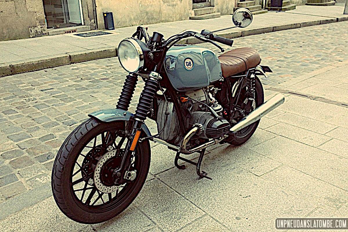 La BMW R100 custom de Guillaume...