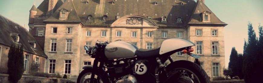 La Triumph Thruxton libérée de JeN-JaK...