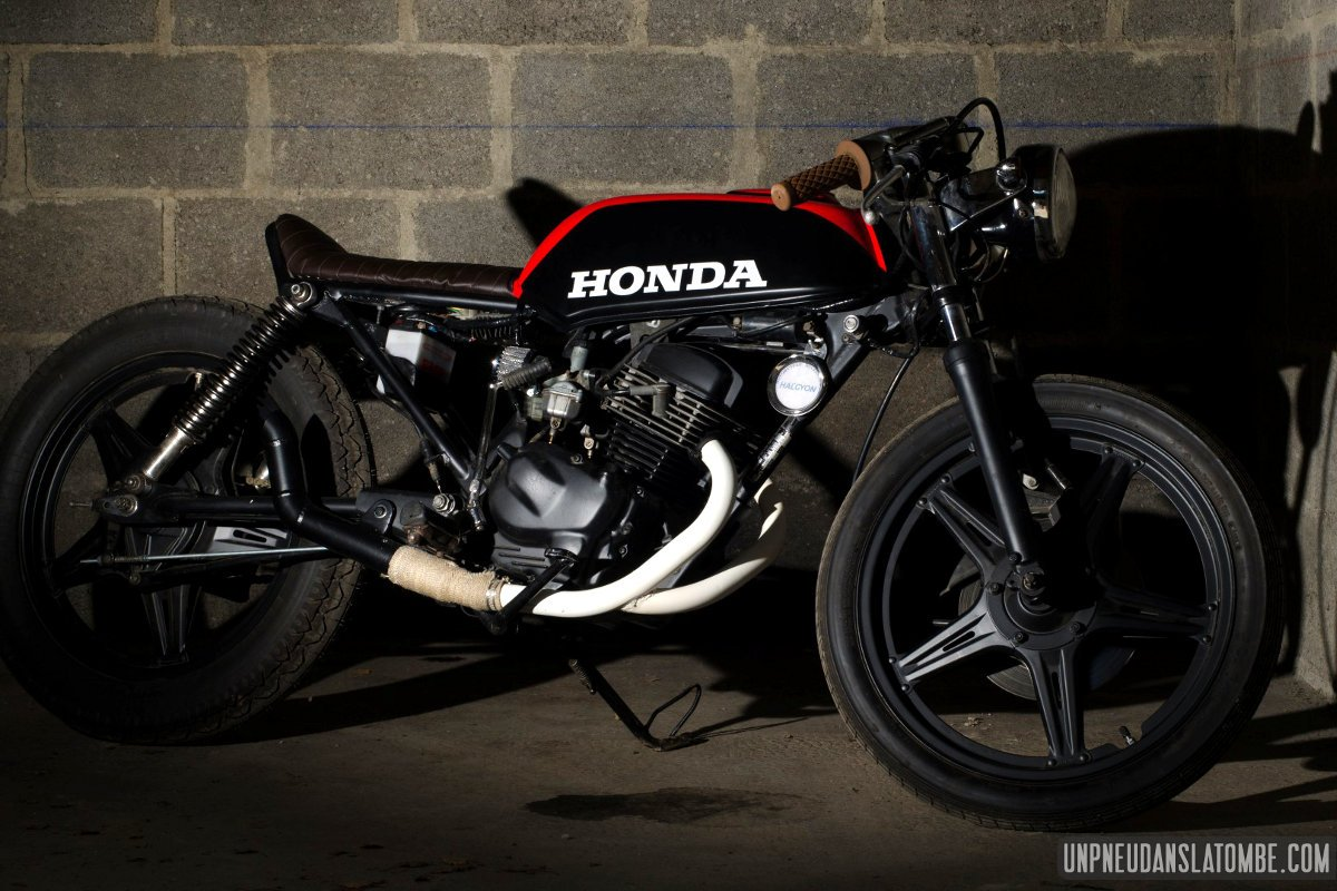 Cb Twin Cafe Racer