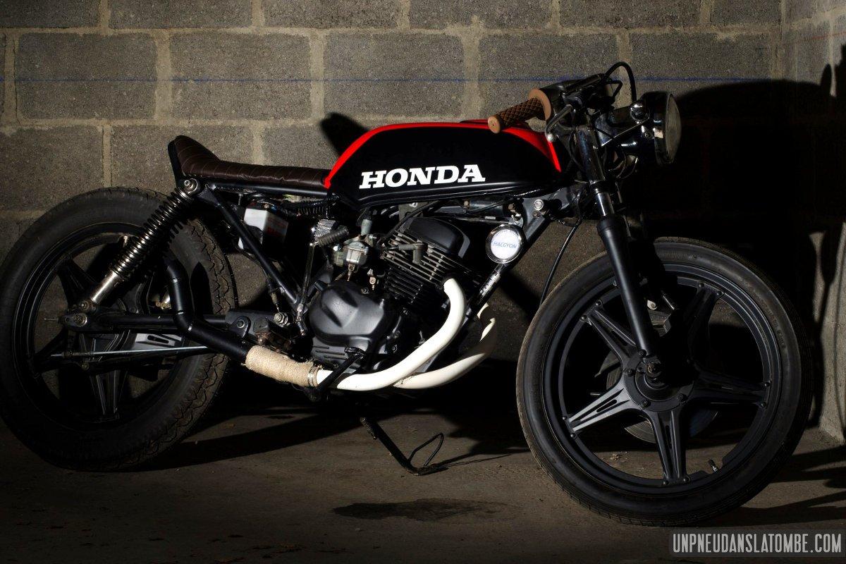 Une Honda Cb 125 Twin Cafe Racer 224 La Sauce Vini Garage