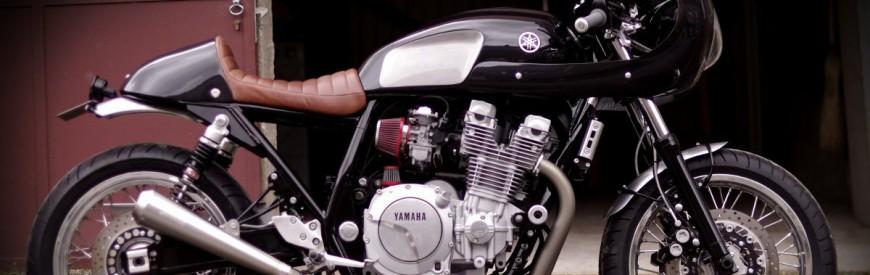 """Yamaha 1300 XJR cafe-racer : la plus belle de """"Sur les chapeaux de roues"""" ?"""