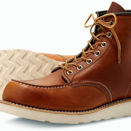 Red Wing Classic Moc : une alternative aux chaussures moto ?