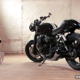 La Honda CB 750 Seven Fifty de Pierre, un joli mélange des genres...