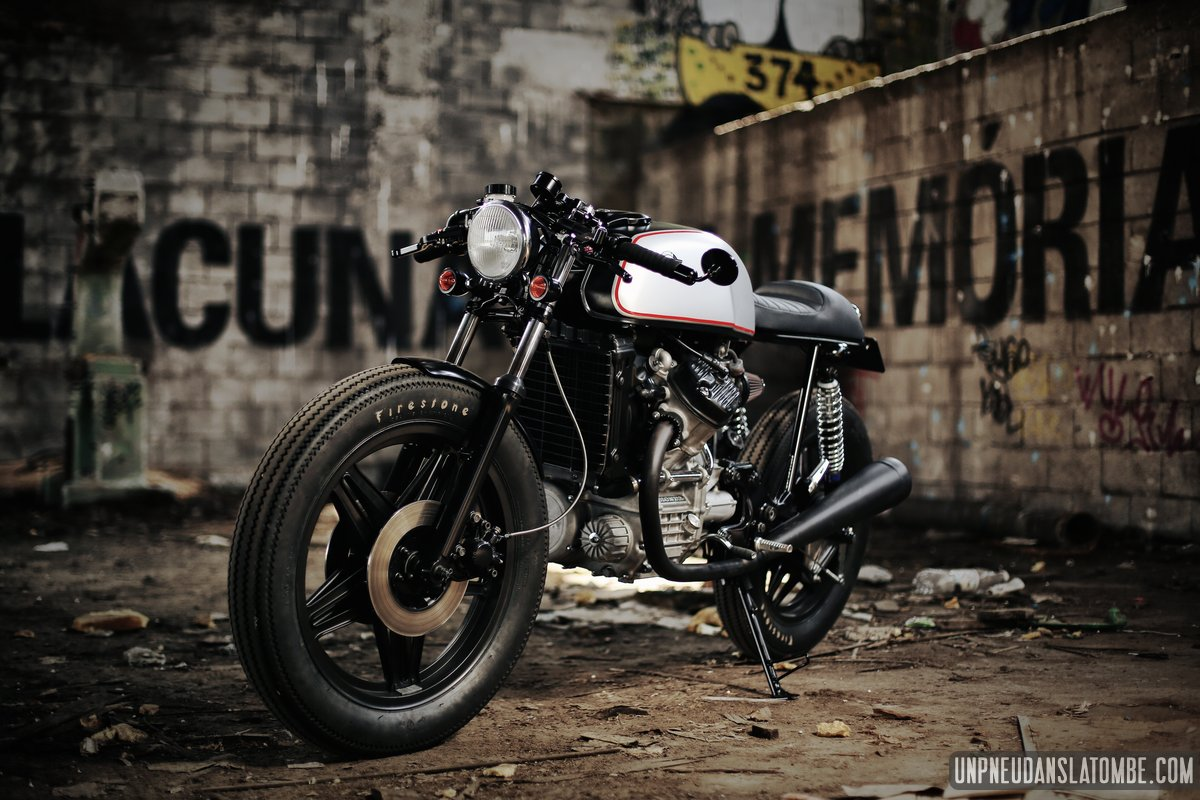 Honda CX 500 cafe-racer : Luis Alves Moto s'y colle !