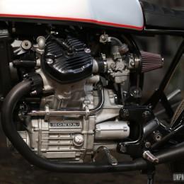 Honda CX 500 cafe-racer : Luis Alves Moto s'y colle !