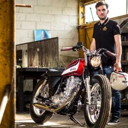 Yamaha SR 400 custom : Garage9 entre en compétition !