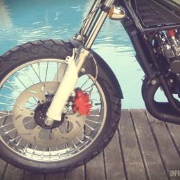 Yamaha 350 RDLC street-tracker : mortelle bombinette !