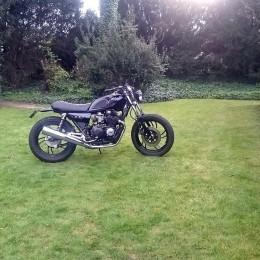 La Yamaha XJ 400 de Sébastien...