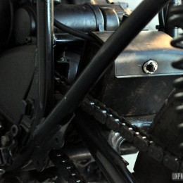 "La Yamaha XJ 400 ""bratstyle"" de Julien..."