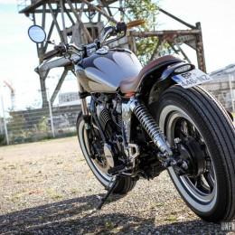 Une Honda VT 500 E custom signée Micho's Garage Motorcycles : good job !