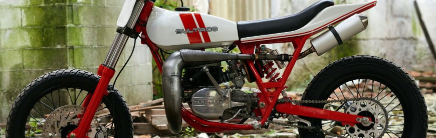 Bultaco Astro : la bitza-hommage de Freeride Motos...