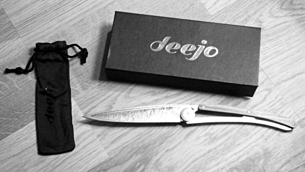 Deejo : offrez-vous un couteau personnalisé à votre image !