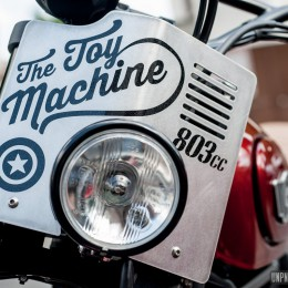 "Ducati Scrambler ""The Toy Machine"" : un lifting signé Creativ Garage..."