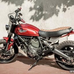 "Ducati Scrambler ""The Toy Machine"" : un lifting signé Creativ Garage..."
