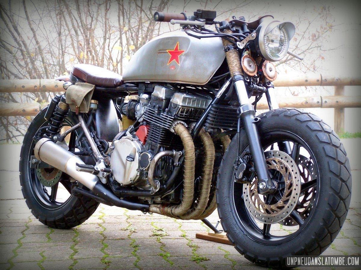 """Honda CB 750 Seven Fifty """"Babushka""""... Krassivaïa !"""