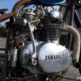 Yamaha XS 650 JTbrothers : rigide made in Belgium...