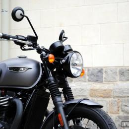 Triumph T120 Black : la Bonneville des gentlemen à l'essai...