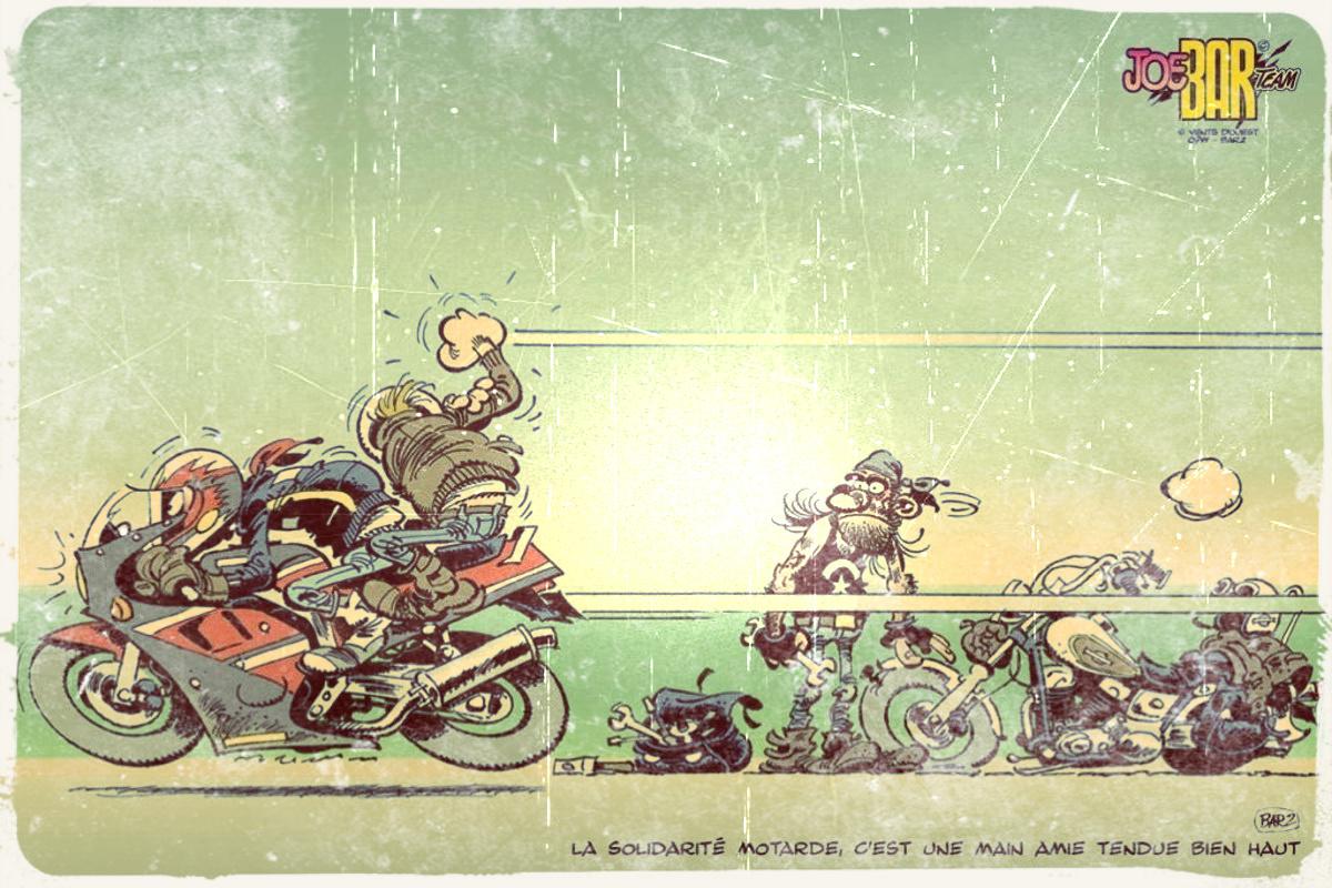 Cinq types de motards qui méritent de crever...