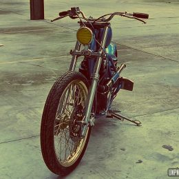 Suzuki 600 DR : un chopper rigide signé Lizard King Custom...