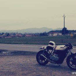 Yamaha XS 850 cafe-racer : la moto égérie de Nico...