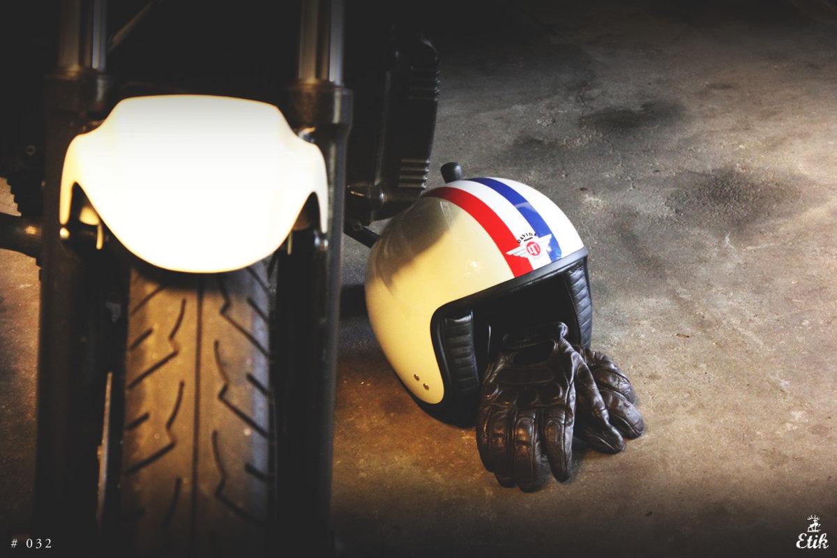 bmw k75 etik motorcycles une pr pa inspir e d 39 un casque davida. Black Bedroom Furniture Sets. Home Design Ideas