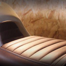 BMW K75 Etik Motorcycles : une prépa inspirée d'un casque Davida...