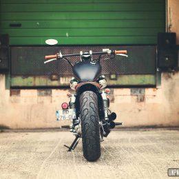 "Yamaha 535 Virago : un custom ""jeune permis"" signé Vini Garage Company..."