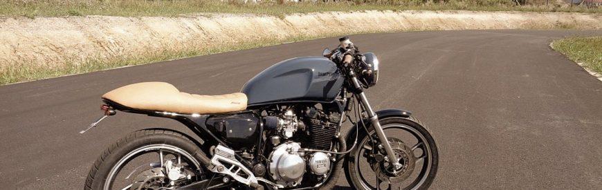 Yamaha 600 XJ cafe-racer : le 1er cafra de Thomas...