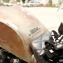 "Yamaha XJ 400 custom : la ""rat bike"" de Harold..."