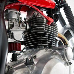 """Yamaha SR 250 scrambler : """"El Pimento"""" de Muto !"""
