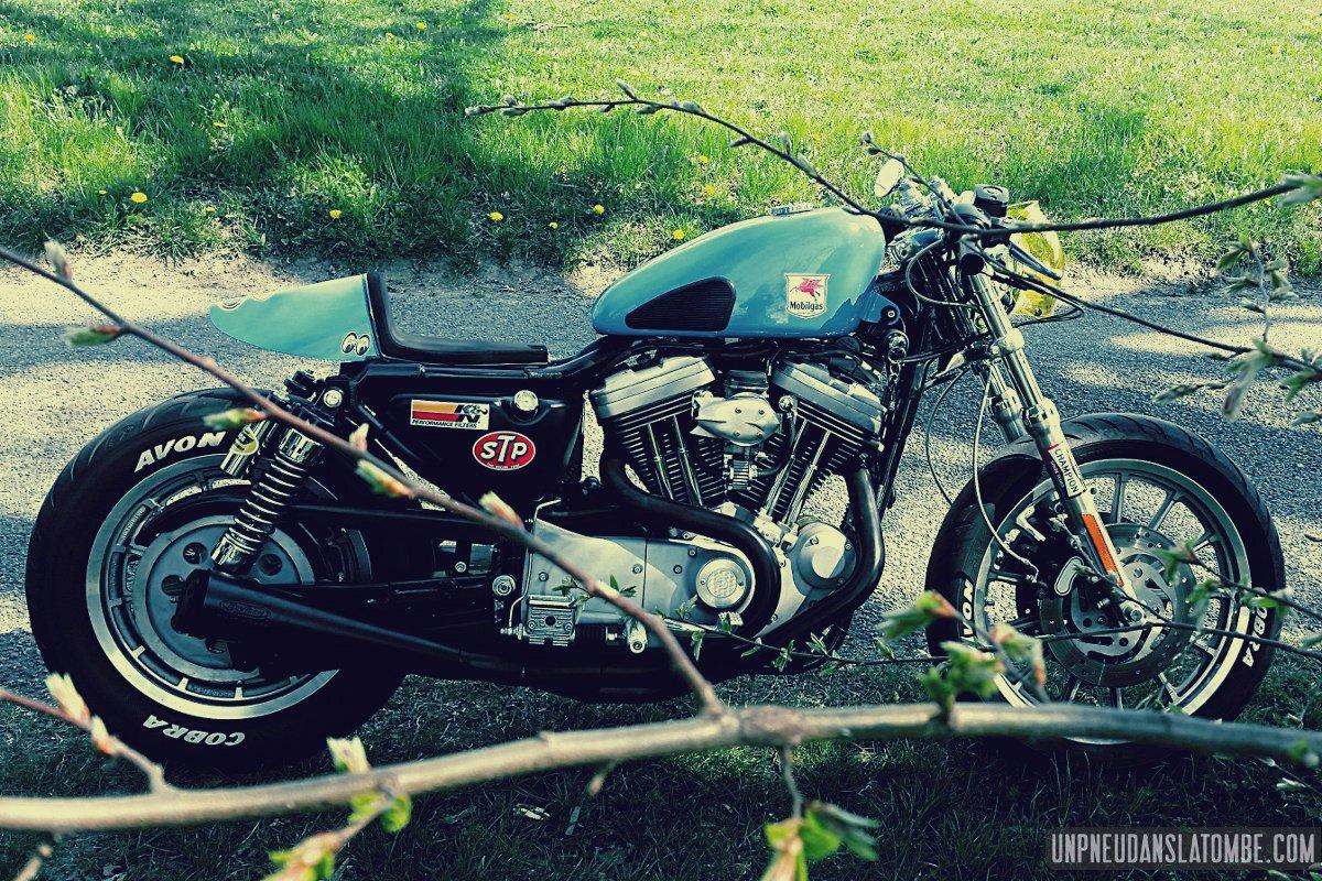 La Harley-Davidson Sportster 1200 S cafe-racer de Fabien...