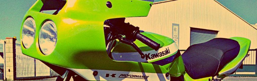 La Kawasaki ZRX 1200 S façon Godier Genoud de Gaëtan...