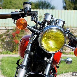La Honda CB 400 T cafe-racer de Didier...