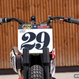 Breizh Coast Kustoms s'arme d'un 1200 Sportster pour le dirt track !