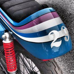 La Honda CG 125 cafe-racer de Jean-François...