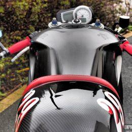 Triumph 1050 Speed Triple cafe-racer : bad vibrations...