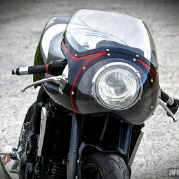 Triumph 1050 Speed Triple cafe-racer : bad vibrations...