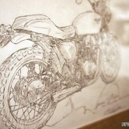 Pause déco : des artistes branchés moto...